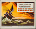 "Movie Posters:Adventure, The Old Man and the Sea (Warner Brothers, 1958). Half Sheet (22"" X28""). Adventure.. ..."