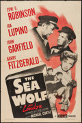 """Movie Posters:Adventure, The Sea Wolf (Warner Brothers, R-1947). One Sheet (27"""" X 41"""").Adventure.. ..."""