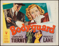 "Movie Posters:Crime, Bodyguard (RKO, 1948). Half Sheet (22"" X 28"") Style A. Crime.. ..."