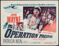 "Movie Posters:War, Operation Pacific (Warner Brothers, 1951). Half Sheet (22"" X 28"").War.. ..."