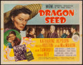 "Movie Posters:War, Dragon Seed (MGM, 1944). Half Sheet (22"" X 28"") Style B. War.. ..."