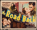 "Movie Posters:War, The Road Back (Universal, 1937). Trimmed Half Sheet (22"" X 27.5"").War.. ..."