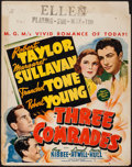 "Movie Posters:Drama, Three Comrades (MGM, 1938). Jumbo Lobby Card (22"" X 28""). Drama....."