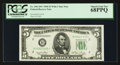 Top Pop Fr. 1961-B* $5 1950 Federal Reserve Note. PCGS Superb Gem New 68PPQ