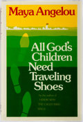 Books:Literature 1900-up, Maya Angelou. INSCRIBED REVIEW COPY. All God's Children Need Traveling Shoes. New York: Random House, [1974]. First ...
