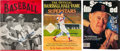 Autographs:Others, 1946-96 Ted Williams Signed Magazines Lot of 4....