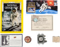 Explorers:Space Exploration, Space Memorabilia Collection, American and Soviet.... (Total: 7Items)