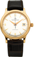 Timepieces:Wristwatch, Jaeger LeCoultre Ref. 140.2.89 Rose Gold Master Control Automatic. ...