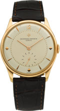 Timepieces:Wristwatch, Vacheron Constantin Ref. 4195 Fine Vintage Rose Gold Wristwatch, circa 1954. ...