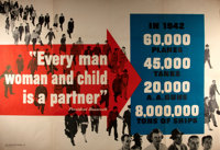 WWII. Every Man Woman and Child...Propaganda Poster. No. M-1. Issued by the War Prod