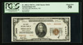 National Bank Notes:North Dakota, Bismarck, ND - $20 1929 Ty. 2 The First NB Ch. # 2434. ...
