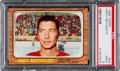 Hockey Cards:Singles (1960-1969), 1966 Topps Andy Bathgate #44 PSA Mint 9 - Pop Two, None Higher! ...