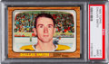 Hockey Cards:Singles (1960-1969), 1966 Topps Dallas Smith #101 PSA Mint 9 - Pop Two, None Higher! ...