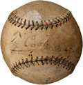 Autographs:Baseballs, 1920 Ty Cobb Single Signed Baseball....