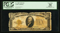 Small Size:Gold Certificates, Fr. 2400 $10 1928 Gold Certificate. PCGS Apparent Very Fine 30.. ...