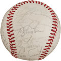 Autographs:Baseballs, 1979 New York Yankees Team Signed Baseball. ...
