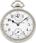 Timepieces:Pocket (post 1900), Rockford 21 Jewel Model 655 With Wind Indicator, Circa 1913. ...