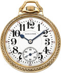 Timepieces:Pocket (post 1900), Hamilton 21 Jewel Model 992, Circa 1931. ...
