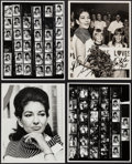 "Movie Posters:Miscellaneous, Maria Callas (1950s-1960s). Autographed Photo, Newspaper Photos (8), Proof Sheets (2), & Portrait Photos (3) (8"" X 10""). Mis... (Total: 14 Items)"