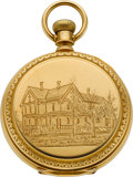 Timepieces:Pocket (post 1900), E. Howard & Co. 15 Jewel 18k Gold Series VI, Circa 1879. ...
