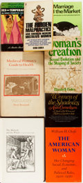 Books:Medicine, [Feminism and Women's Health]. Group of Eight Related Titles. Various publishers and dates. Handling and shelfwear. Very goo... (Total: 8 Items)