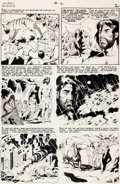 "Original Comic Art:Panel Pages, Wally Wood Incredible Science Fiction #33 ""Big Moment"" page2 Original Art (EC, 1956)...."
