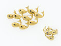 Estate Jewelry:Suites, Sapphire, Gold Whale Jewelry Suite. ... (Total: 2 Items)