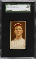 Baseball Cards:Singles (Pre-1930), 1912 T207 Anonymous Louis Lowdermilk SGC 55 VG/EX+ 4.5. ...