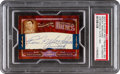 Boxing Cards:General, 2007 Playoff National Treasures Rocky Marciano #HC-RM PSA Authentic - #'d 1/2. ...
