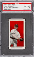 "Baseball Cards:Singles (Pre-1930), 1910 E98 ""Set of 30"" Fred Clark (Red) ""Black Swamp Find"" PSA NM-MT8. ..."