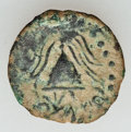 Ancients:Judaea, Ancients: HERODIANS. Herod Archelaus (4 BC-AD 6). Æ prutah (1.45gm). Good Very Fine...