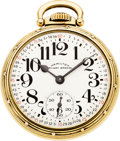 Timepieces:Pocket (post 1900), Hamilton 23 Jewel Grade 950 B. ...