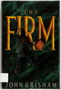 Books:Horror & Supernatural, John Grisham. The Firm. Doubleday, [1991]. First edition.Publisher's cloth and dust jacket. Fine. From a private ...