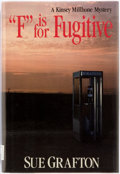 "Books:Mystery & Detective Fiction, Sue Grafton. ""F"" is for Fugitive. New York: Henry Holt,[1989]. First edition, first printing. Publisher's binding a..."