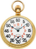 Timepieces:Pocket (post 1900), Elgin 23 Jewel Veritas Ferguson Dial, Circa 1904. ...