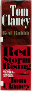 Books:Literature 1900-up, Tom Clancy. Red Storm Rising [and:] Red Rabbit. NewYork: Putnam's, [1986, 2002]. First editions. Red Rabb...(Total: 2 Items)