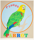 Prints:Contemporary, ROBERT INDIANA (American, b. 1928). Parrot (from theDecade portfolio), 1971. Screenprint in colors. 38-1/8 x31-1/2...