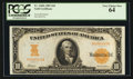 Large Size:Gold Certificates, Fr. 1169a $10 1907 Gold Certificate PCGS Very Choice New 64.. ...