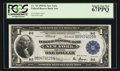 Large Size:Federal Reserve Bank Notes, Fr. 713 $1 1918 Federal Reserve Bank Note PCGS Superb Gem New 67PPQ.. ...