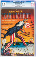 Golden Age (1938-1955):War, Remember Pearl Harbor #nn (Street & Smith, 1942) CGC FN 6.0Cream to off-white pages....