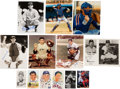 Autographs:Photos, 1930's-2000's Catchers Signed Photographs Lot of 100+....