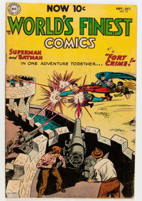 World's Finest Comics #72 (DC, 1954) Condition: VG/FN