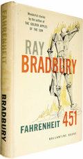 Books:Signed Editions, Ray Bradbury: Signed First Edition of Fahrenheit 451 (NewYork: Ballantine Books, 1953), first edition, 199 pages, red c...(Total: 1 Item)
