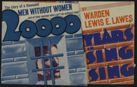 """20,000 Years in Sing Sing (Warner Brothers, 1932). Herald (4.5"""" X 7""""). Crime. Directed by Michael Curtiz. Star..."""