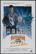"""Movie Posters:Science Fiction, The Adventures of Buckaroo Banzai Across the 8th Dimension (20th Century Fox, 1984). One Sheet (27"""" X 41""""). Science Fiction...."""