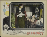 "Alimony (FBO, 1924). Lobby Card (11"" X 14""). Drama. Directed by James W. Horne. Starring Ruby Miller, Herschel..."