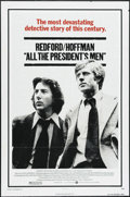"Movie Posters:Drama, All the President's Men (Warner Brothers, 1976). One Sheet (27"" X 41""). Drama. Directed by Alan J. Pakula. Starring Robert R..."