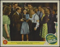 "Movie Posters:Musical, Babes on Broadway (MGM, 1941). Lobby Card (11"" X 14""). Autographed by Mickey Rooney. Comedy. Directed by Busby Berkeley. Sta..."