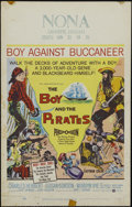 """Movie Posters:Adventure, The Boy and the Pirates (United Artists, 1960). Window Card (14"""" X22""""). Adventure. Directed by Bert I. Gordon. Starring Cha..."""