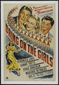 """Movie Posters:Musical, Bring on the Girls (Paramount, 1945). One Sheet (27"""" X 41""""). Musical. Directed by Sidney Lanfield. Starring Veronica Lake, S..."""